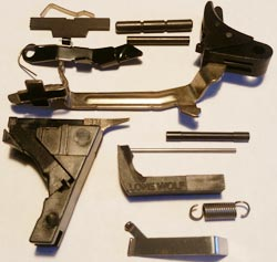 Glock Frame Completion Kit